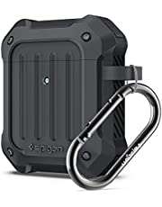 Spigen Tough Armor Ontworpen voor Apple Airpods Case 1 & 2 Hoesje [Front LED Visible] - Houtskool