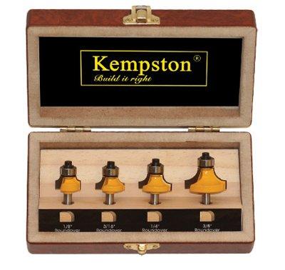 (Kempston KC3040 Roundover Set, 1/4-Inch Shank,)