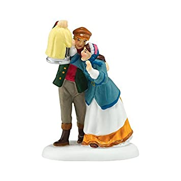 Department 56 Dickens Village Lovebirds Accessory Figurine, 2.56