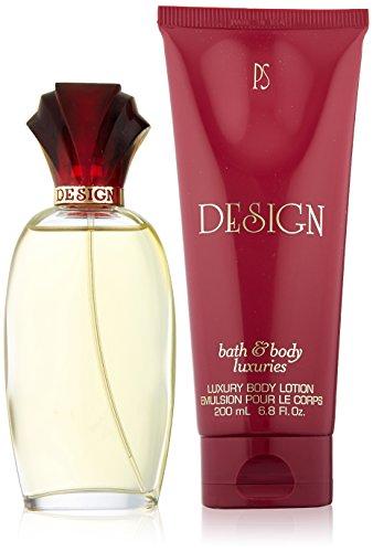 Design Body Lotion - Design by Paul Sebastian for Women - 2 Pc Gift Set 3.4oz Fine Parfum Spray, 6.8oz Luxury Body Lotion