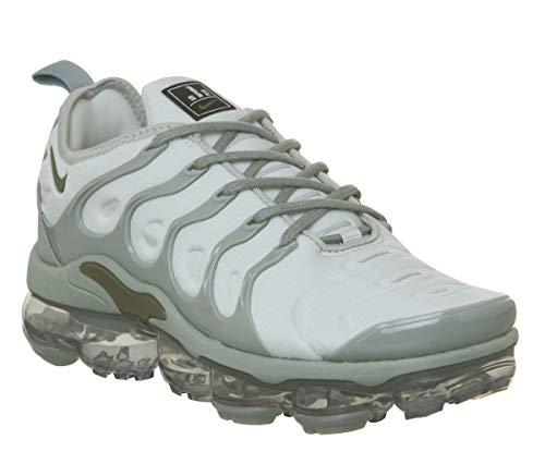 Nike Air Vapormax Plus Women's Shoes Light Silver/Medium Olive ao4550-006 (9 B(M) US)