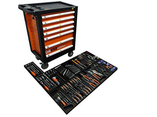 Werkstattwagen gefüllt mit Werkzeug! Werkzeugschrank Werkzeugwagen Werkzeugkiste
