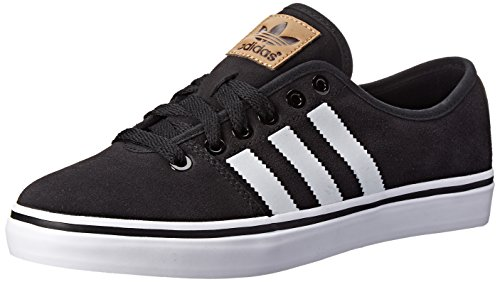 adidas Originals Women's Adria Lo W Shoe, Black/White/Brown, 11 M US