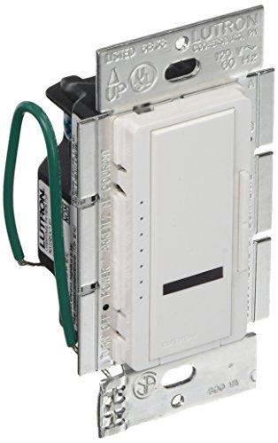 Lutron MIRLV-600M-WH Maestro IR 450-watt Multi Location Magnetic Low Voltage Dimmer, White