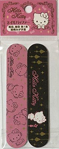 T&T Sanrio Hello Kitty Nail File & Nail Polish Manicure Files kit 2pcs Set 2×10cm