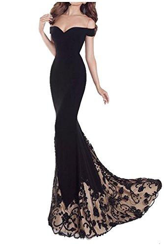 Womens Mermaid shoulder Formal Dress product image