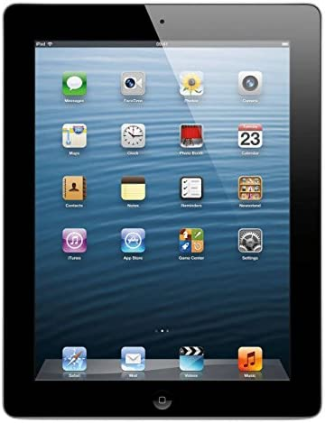 Apple iPad with Retina Display MD511LL/A (32GB, Wi-Fi, Black) 4th Generation (Refurbished)