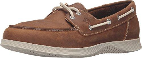 SPERRY Men's, Defender 2 Eye Boat Shoe TAN 9 - 2 Moc Eye