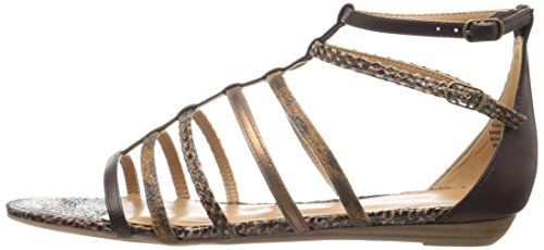 Sintetico Aboutthat West Dress Cognac Sandal Nine Multi w8qE544