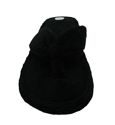 Flip Terry House Black for Flop Cotton Women's Women Fashion Slippers ZSw5qqtf