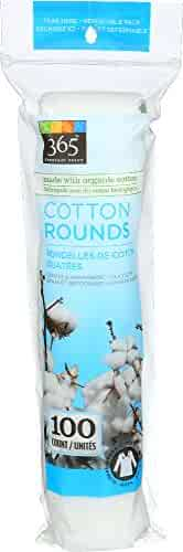 365 Everyday Value, Cotton Rounds, 100 Count