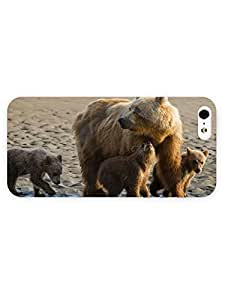 3d Full Wrap Case For Sony Xperia Z2 D6502 D6503 D6543 L50t L50u Cover Animal Bear And Its Cubs