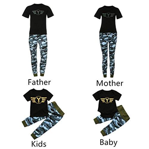 Upxiang Mutter Tochter Kleidung/Vater Sohn Kleidung Mode Familie ...
