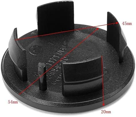 73mm Auto-Rad-Mitte-Naben-Kappen-Radmitte Abdeckung Emblem Bandagen radnabenkappen 4pcs Universal-54//64 Color : White 65//68//69