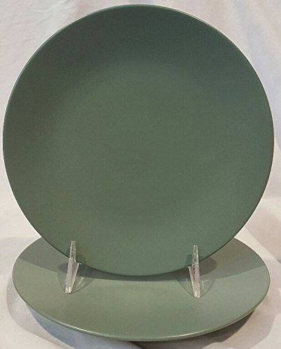 (Set of 2 Noritake China Colorwave Salad Plate Solid Green 7 1/2
