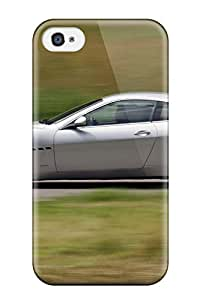 Iphone 4/4s Case Cover - Slim Fit Tpu Protector Shock Absorbent Case (maserati Granturismo)