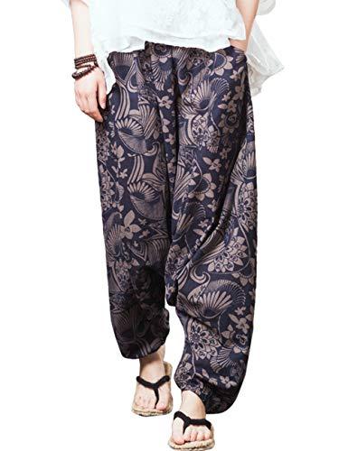 Pantalones Azul Zhhlaixing Oscuro Pants Holgado Linen Trotar Fit Clásico Suelto 2 Aire para Lino Al Libre Confortable Vestir Corriendo Deportes Pantalones Casual rHUrqFzwR