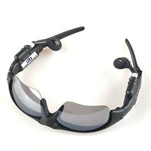 Hot Sale! High Quality 2gb Sport Sun Glasses Sunglasses Headset Headphone Earphone Mp3 Player