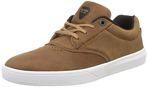 The White Herren Toffee Braun Sneaker SG Eagle Globe PwfUP