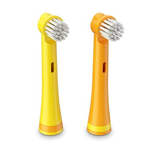 - Brusheez Electronic Toothbrush Replacement Brush Heads (Jovie the Giraffe) _2 Pack