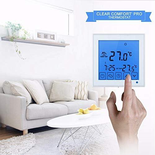 電気床暖房サーモスタット、温度調節器サーモレギュレータ