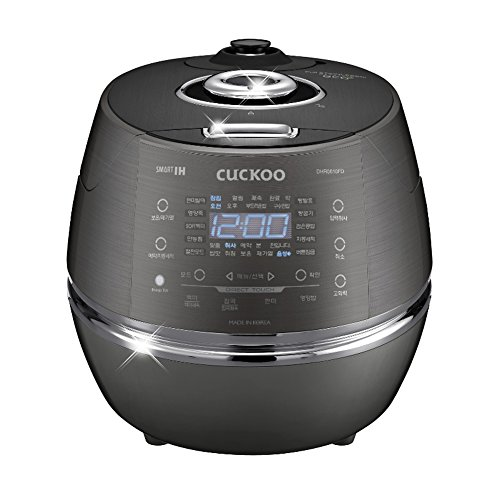 CUCKOO CRP-DHR0610FD 6 Cups Smart IH Pressure Rice Cooker Touch Button English Voice Guidance 220V & Simple English User's Manual