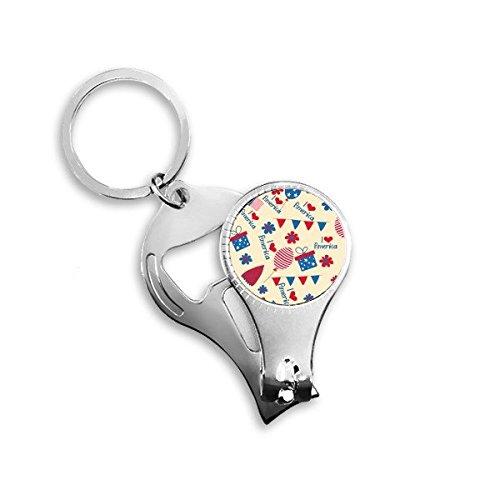 Llavero de metal con diseño de corazón con diseño de flor de ...