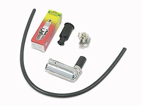 Encendido piezas de Juego (Vela Conector + Bujía 260er Beru, unterbrecher, cable de
