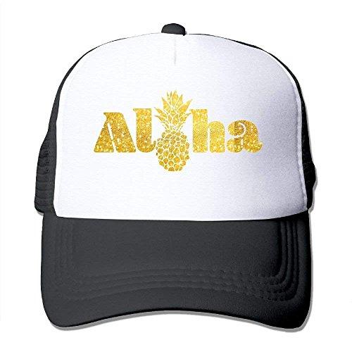 rongxincailiaoke Gorras béisbol Aloha Pineapple Mesh Womens Classic Trucker Baseball Hats