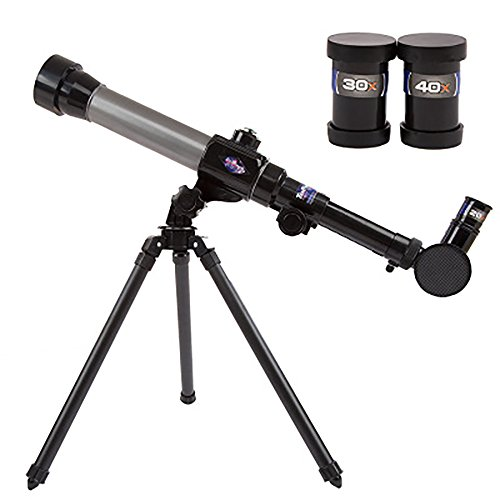 Extpro Astronomy Beginner Telescope for Kids and Students, Kids Educational Nature Science Exploration Toys, DIY and Detachable Telescope(Easy-Set-Up and Easy-To-Use) from Extpro