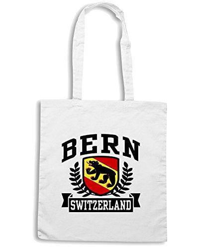 T-Shirtshock - Bolsa para la compra TSTEM0009 bern switzerland Blanco