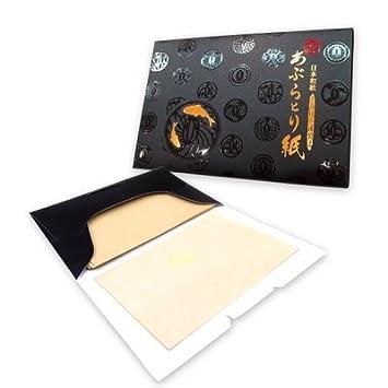 Carta assorbente premium per il viso - Dolce Canapa, Made in Japan - oil control blotting paper - 8.5cm x 6.0cm, pack da 100 fogli (X1 pack) Cosmos