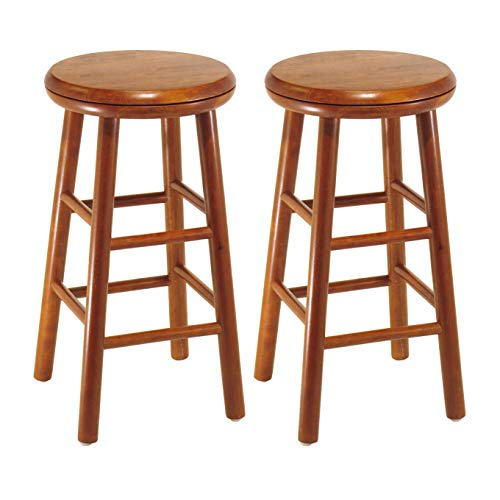Winsome Wood 75234 Oakley Stool, 24