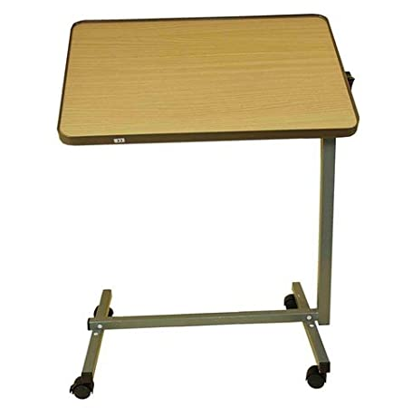 Cama de mesa, altura regulable, con ruedas, en haya: Amazon.es: Hogar
