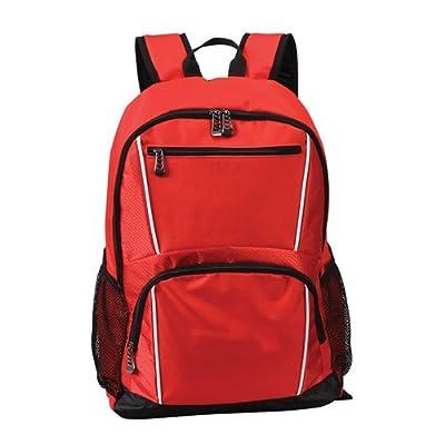 "17"" Laptop Computer School Backpack (RED)"