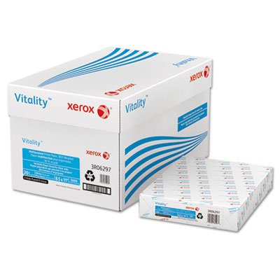 Business Recycled Copy Paper, 3-Hole, 92 Bright, 20lb, Ltr, White, 500 Shts/RM, Sold as 1 Ream, 500 per Ream