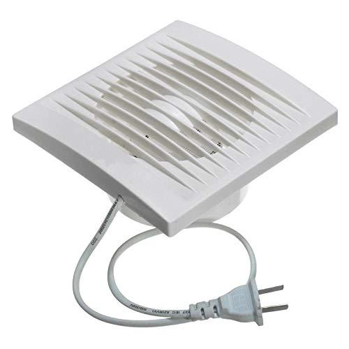 - 12W 100mm Ventilation Extractor Exhaust Fan Blower Window Wall Kitchen Bathroom Toilet