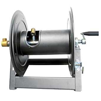 General Pump DHRA50300 1/2u0026quot; x 300u0027 Charcoal Grey Steel Hose Reel with  sc 1 st  Amazon.com & Amazon.com: General Pump DHRA50300 1/2