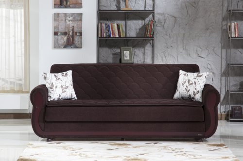 Argos Colins Brown Sofa Sleeper