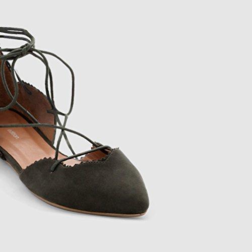Redoute Donna Materiale Collections La in Kaki Ballerine Sintetico ZwqvAdE
