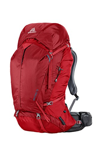 Gregory Mountain Products Baltoro 75 Liter Men's Multi Day Hiking Backpack , Spark Red, Medium
