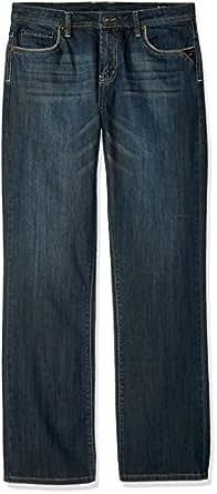 Buffalo David Bitton Boys King- X Slim Fit Boot Cut Denim with Stretch Jeans - Blue - 10