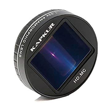 Kapkur Anamorphic Lens HD 4K 1.33X for Smartphone Shot by Filmic ...