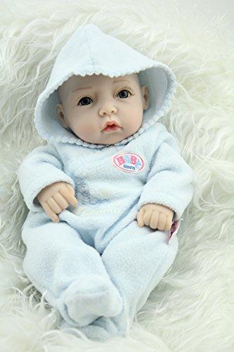 10inch Mini Full Vinyl Boy Baby Doll Toys LifeLike Play Doll