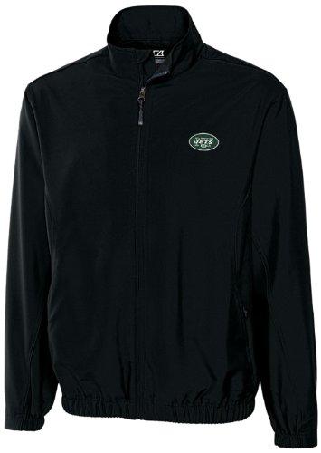 フルジップウィンドシャツ NFL ニューヨークジェッツ WindTec Astute メンズ XL ブラック B00466IOC0