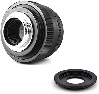 Pixco Mini 35mm F1.6 APS-C Television TV Lens/CCTV Lens for for ...