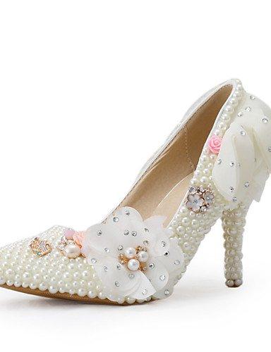 ZQ Zapatos de boda-Tacones-Tacones-Boda / Vestido / Fiesta y Noche-Beige-Mujer , 3in-3 3/4in-us8 / eu39 / uk6 / cn39 , 3in-3 3/4in-us8 / eu39 / uk6 / cn39 3in-3 3/4in-us8 / eu39 / uk6 / cn39