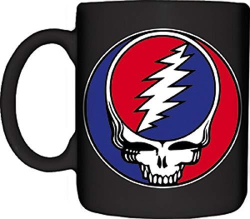 Grateful Dead - Mug - Ceramic 11 Oz Coffee Mug Skull Logo-Licensed - New In Box (11 Logo Oz Mug)