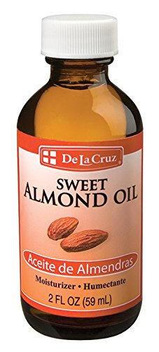 De La Cruz Sweet Almond Oil 2 FL. OZ.