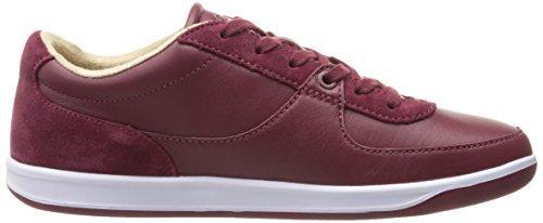 Lacoste Mens Ls.12-minimal 416 1 Cam Fashion Sneaker Rosso Scuro